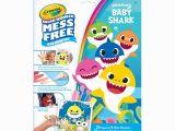 Crayola Color Wonder Baby Shark Mess Free Coloring Pages Color Wonder Mess Free Colouring Pages & Mini Markers