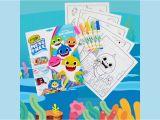 Crayola Color Wonder Baby Shark Mess Free Coloring Pages Crayola Baby Shark Wonder Pages Mess Free Coloring Gift