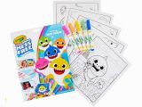 Crayola Color Wonder Baby Shark Mess Free Coloring Pages Crayola Color Wonder Baby Shark Coloring Pages Mess Free
