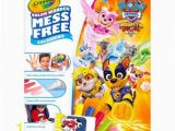 Crayola Giant Coloring Pages Nickelodeon Paw Patrol Mighty Pups Crayola Color Wonder Mess Free Paw Patrol Coloring Pages