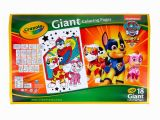 Crayola Giant Coloring Pages Nickelodeon Paw Patrol Mighty Pups Crayola Giant Coloring Pages Paw Patrol Coloringpages2019