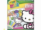 Crayola Hello Kitty Coloring Pages Brynn Crayola Color Wonder Mess Free Coloring Kit Hello