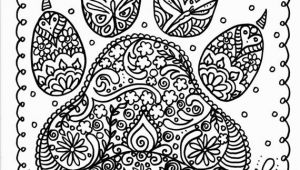 Create Your Own Mandala Coloring Page Instant Download Dog Paw Print You Be the Artist Dog Lover Animal