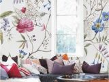 Create Your Own Wall Mural Floral Wallpaper Old Painting Plants Mural Self Adhesive
