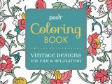 Creative Coloring Botanicals Art Activity Pages to Relax and Enjoy Amazon Posh Adult Coloring Book Vintage Designs for Fun
