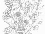 Creative Coloring Botanicals Art Activity Pages to Relax and Enjoy Poppy Love An Adult Coloring Page by Cynthia Emerlye Available as