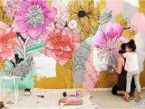 Creative Wall Murals Ideas 30 Pretty Flower Wall Decor Ideas for Creative Wall Decor