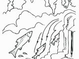 Creature From the Black Lagoon Coloring Pages Chinook Salmon Coloring Page Inspirational Authentic Creature From