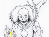 Creepy Clown Coloring Pages 14 Best Beckacolor Images