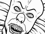 Creepy Clown Coloring Pages 52 Ageless How to Draw Creepy Heads