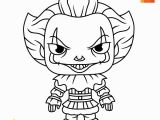 Creepy Clown Coloring Pages Coloring Page for Kids How to Draw Pennywise the Clown