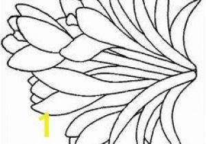 Crocus Coloring Page Crocus Stencil Google Search Stencils Pinterest
