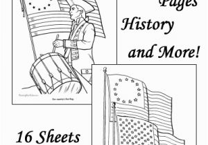Cub Scout Printable Coloring Pages American Flag