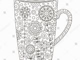 Cup Of Tea Coloring Page Cup Tea Coloring Page Inspirational Green Coloring Pages
