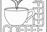 Cup Of Tea Coloring Page Free Coloring Page Coffee Cup Kids Activities Pinterest