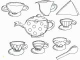 Cup Of Tea Coloring Page Tea Cup Coloring Page Inspirational Cups Drawing at Getdrawings