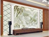 Custom 3d Wall Mural Wallpaper Wapel 3d Customized Wallpaper Jade Carving Reliefs Eagle