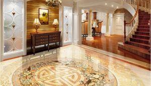 Custom Floor Tile Murals Custom 3d Floor Tiles Mural Wallpaper European Style Marble Luxury