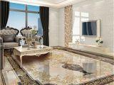 Custom Floor Tile Murals Custom Self Adhesive Floor Mural Classic European Style Vase Marble