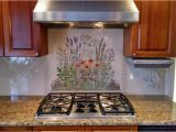 Custom Kitchen Tile Murals Simple Wall Hand Painted Tile Backsplash – Amberyin Decors