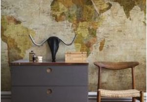 Custom Map Wall Murals by Wallpapered 21 Best World Maps Images In 2019