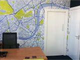 Custom Map Wall Murals by Wallpapered Custom Map Wallpaper Profesjonalista Wallpapered