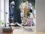 Custom Map Wall Murals by Wallpapered Death and Life Gustav Klimt – Popular Wall Mural – Wall