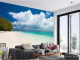 Custom Printed Wall Mural 3d Custom Mural Diy Wallpaper for Walls Brand Designer Living Room Good Looking Beach Sea View Printed Wall Papers Wallpaper High Wallpaper High