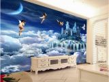 Custom Printed Wall Mural Beibehang Customized Mural Paintings Creative Dreams Angel