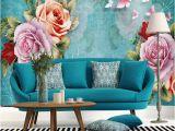 Custom Wall Murals Australia Modern Vintage Oil Painting Floral Wallpaper Custom Tv Background Wall 3d Custom Mural Bedroom sofa Wall Covering Arkadi Australia 2019 From Arkadi
