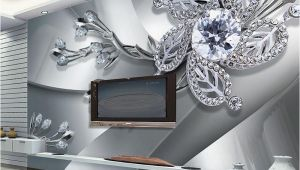 Custom Wall Murals From Photo Custom Any Size 3d Wall Mural Wallpaper Diamond Flower Patterns