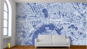 Custom Wall Murals toronto Custom Map Wall Murals by Wallpapered