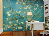 Custom Wall Murals toronto Van Gogh the Apricot Blossom Tree Art Wallpaper Custom Wall