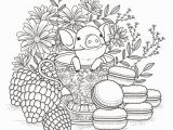 Cute Animal Coloring Pages for Adults Baby Pork Pigs Adult Coloring Pages