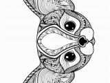 Cute Animal Coloring Pages for Adults Print Zen Cute Cat Adult Coloring Pages