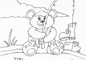 Cute Bear Coloring Pages Coloring Pages Printable Pyography