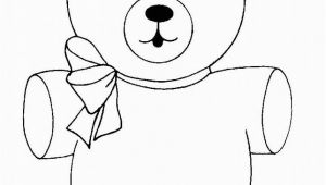 Cute Bear Coloring Pages Free Printable Teddy Bear Coloring Pages for Kids