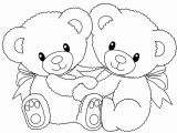 Cute Bear Coloring Pages Teddy Bear Coloring Pages Free Printable Coloring Pages