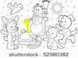 Cute Christmas Puppy Coloring Pages Dog Coloring Page D Free Stock Public Domain