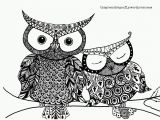 Cute Coloring Pages Of Owls Free Owl Adult Coloring Pages to Print Cute Coloring Adult