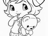 Cute Coloring Pages to Print for Girls Coloring Pages Little Girl