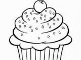 Cute Cupcake Coloring Pages 7955 Cupcake Free Clipart 41