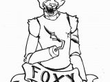 Cute Five Nights at Freddy S Coloring Pages Fnaf Coloring Pages Foxy