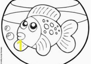 Cute Goldfish Coloring Pages 39 Best Goldfish Party Images On Pinterest In 2018
