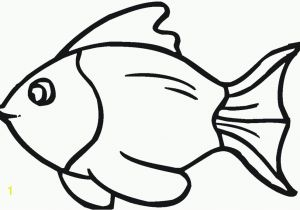Cute Goldfish Coloring Pages Fish Template Cut Out Az Coloring Pages Crafting