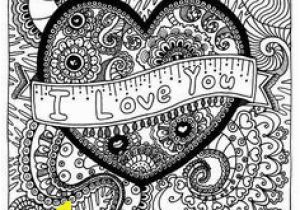 Cute I Love You Coloring Pages 335 Best Coloring Book Love Hearts Valentine S Day Mandalas