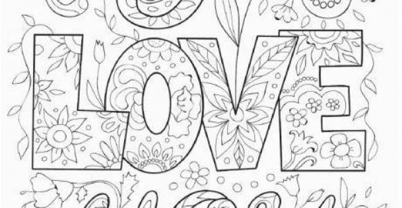 Cute I Love You Coloring Pages I Love You Coloring Pages for Adults