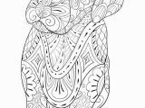 Cute Little Animal Coloring Pages Adult Coloring Page A Cute Little isolated Dog for Relaxing