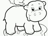 Cute Little Animal Coloring Pages Baby Jungle Animals Coloring Pages