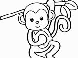 Cute Monkey Coloring Pages Cute Monkey Coloring Pages 44 with Cute Monkey Coloring Pages